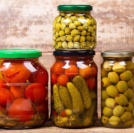 Conserva de Frutas Y Verduras
